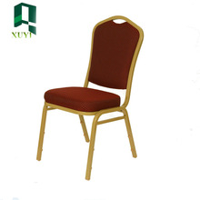 China famouse banquet steel stacking chairs and table price for sale
