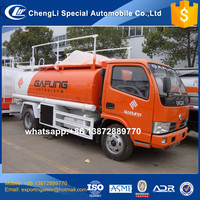 5000 liters capacity mini fuel tanker trucks with fuel filling machine