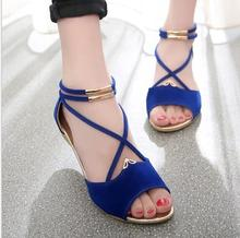 UP-0299J Cheap latest fashion girls shoes women ladies flat sandals for summer