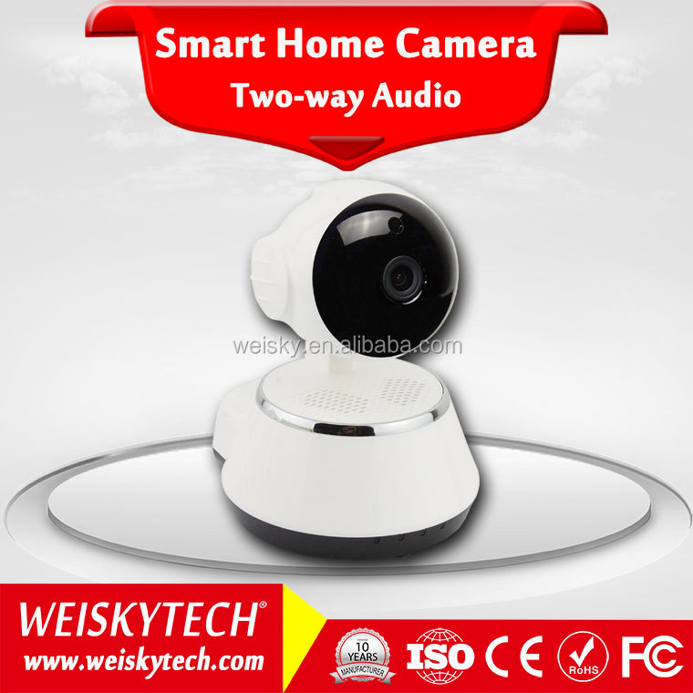 Weisky Best Sell WIFI IP Baby Camera P2P Camera for Home monitoring By Smart Phone APP V380