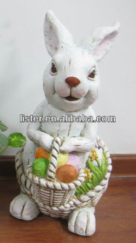 2014 newly coming Easter Bunny figurine