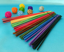 Colorful rattan reed diffusore bastone D3mm