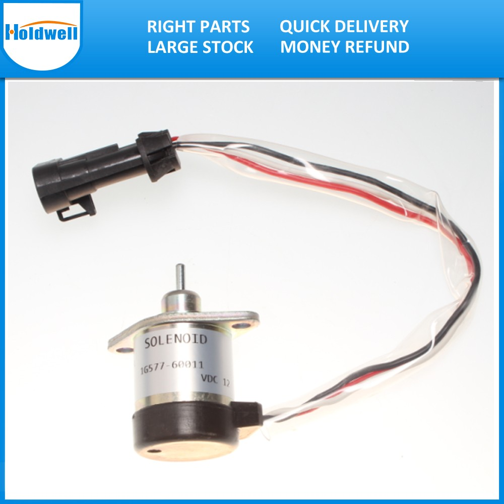 High Level Quality Shut Down Stop Solenoid 6689034 For S220, S250, S300, S330, T250 Skid Steer Loader