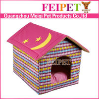 Adorable Star and Moon Pattern Indoor Pet Bed Cardboard Dog House