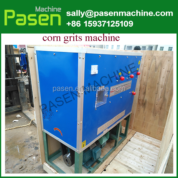 easy operation Maize Meal Process Machine / Corn Grits Grinding Machine / Corn Grits Making Machine Corn Grits Machine