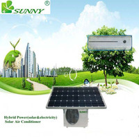 48V DC 100% solar hybrid air conditioner factory price TKFR-72GW/DC