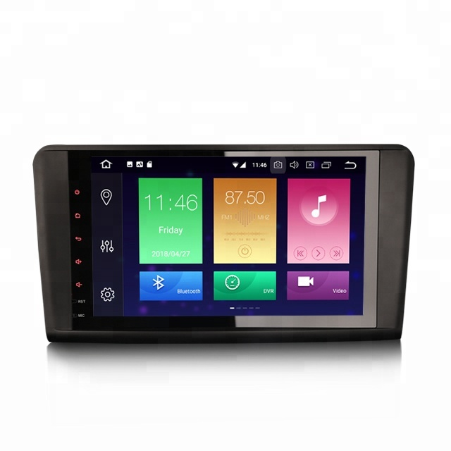 "Erisin ES7494L 9"" <strong>Android</strong> 8.0 DAB+ Car Stereo Navigation GPS Sat 4G DVR WiFi for Mercedes <strong>W164</strong> X164"