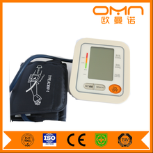 Home use digital talking arm wrist blood pressure monitor CE approved digital bp operator