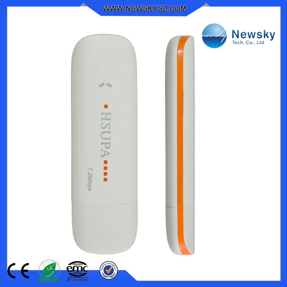 Portable mini pocket external 3g dongle modem support tablet pc