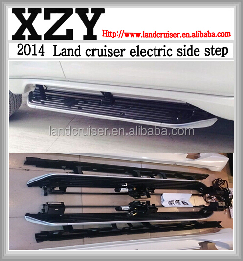 2015 electric side step for land cruiser LC200,fj200 electric running board