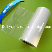 transparent l PET packaging Film/ pet shrink film rolls