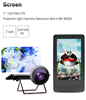 "Smart Projector Tablet 7"" Quad Core 1G 16G Android Tablet PC MQ749"