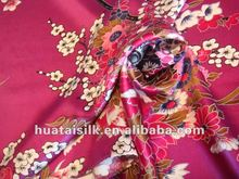Camouflage Silk Fabric in Hot Pattern (0907013)