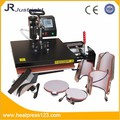 Factory direct sale 8 in 1 or 7 in one or 6 in one Combo heat press machine
