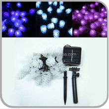 solar led christmas light 20/30/50 Led pinecone Shape for garden (JL-7537)