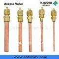 access valve, gas charging valve,one-way valve, charging pin valve for refrigeration and air conditioning