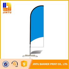 Advertising Tear drop feather street flag pole flying Banner