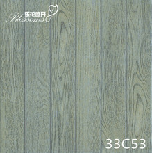 Ceramics square wood tile rustic designs (300x300mm)
