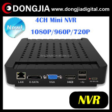 DONGJIA DA-3004M high tech indoor h.264 security 4ch mini portable dvr