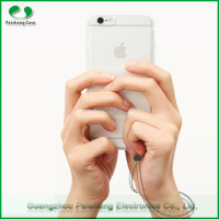 Mobile phone cell case new TPU material round metal bumper case for Iface brand for apple iphone 6 /6s with lanyard rope