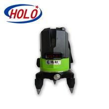 2line green beam laser level, 360 degree free laser level, rotating laser level with waterproof