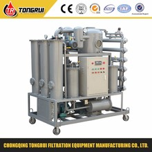 ZJA cheap price insulation oil filtration equipment/tranformer oil purification