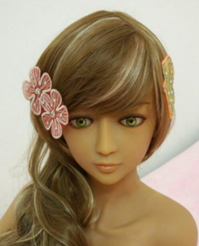 silicone love doll head for 100cm silicone doll