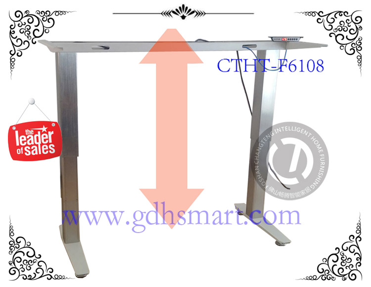 liquidation sale standard office desk dimension electric height adjustable table frame