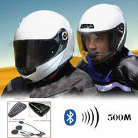 Shenzhen Best Sellers Of 2015 Motorcycle Helmet Bluetooth Headset/Intercom