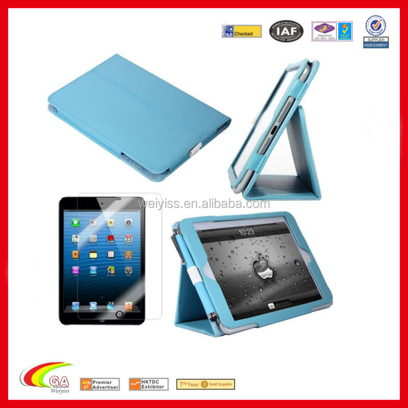 Hot-selling stand case for ipad mini deluxe leather, Stand case for ipad mini manufacturers & suppliers