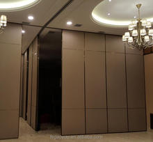US hotel sliding folding partitions banquet room acoustic Movable balcony partitions with cheap price