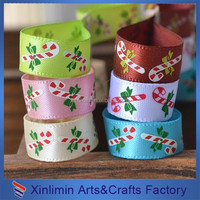 2016 Hot Sale Fashionable Christmas Tree Wired Ribbon Customized