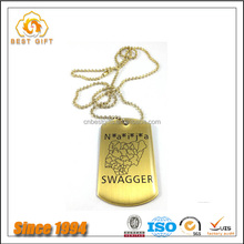 Wholesale Stainless Steel Colorful Engravable Dog Tag Blank Dog Tags