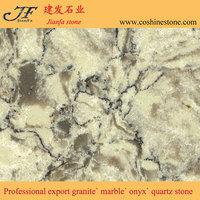 New polished granite color texture quartz countertop slabs