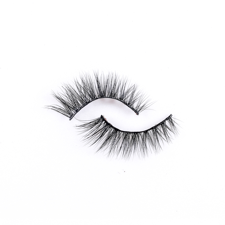 mink lashes and custom package 3d mink eyelashes clear band  all handmade 3d mink eyelashes