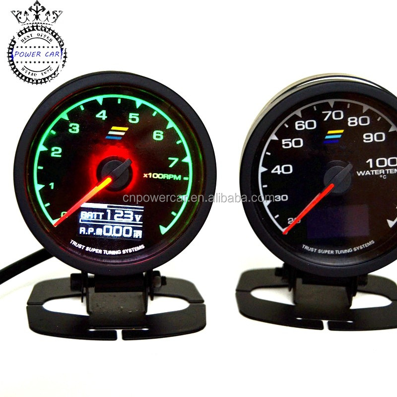 Multi D/A 62 MM Racing Water Temp Auto Gauge Universal Boost Auto Meter