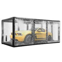 Inflatable waterproof and dustproof PVC transparent car tent