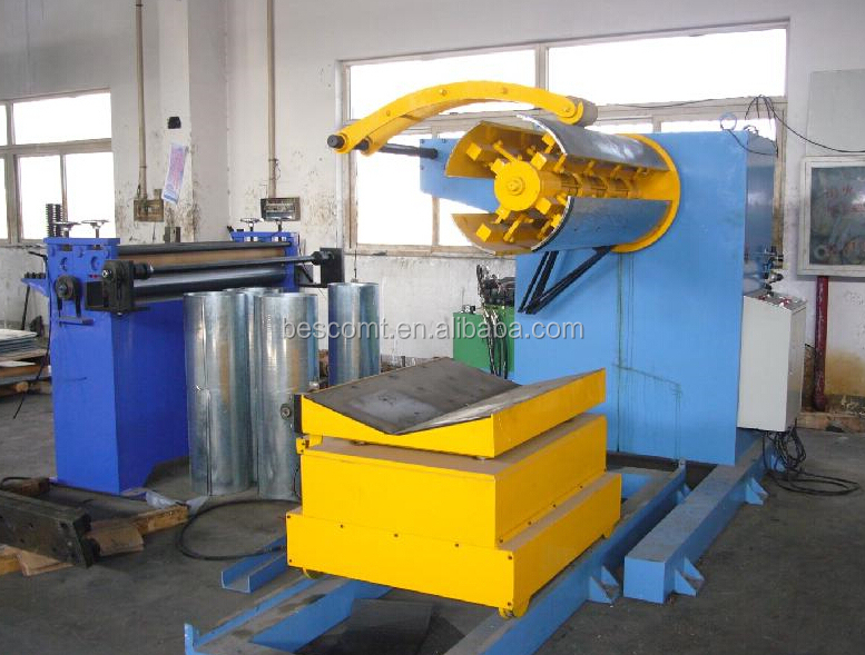 heavy decoiler of rib lath production line