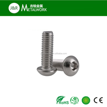 A2-70 stainless steel hex scoket pan head screw with collar