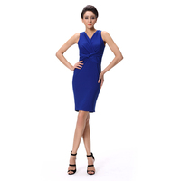 Sexy ladies one piece dress decent evening dress