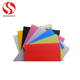 Customized full color print pp material corrugated plastic corrugated corex plastic sheet