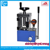 Desktop compact digital good sealing 24 t small hydraulic lab electric press for lithium battery