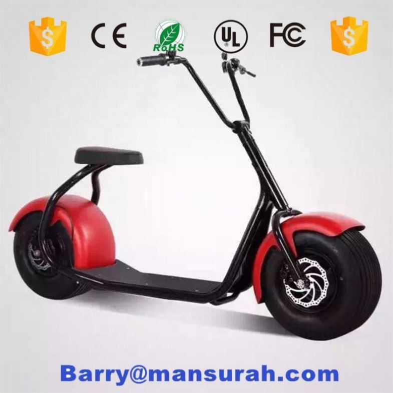 Big tire smart citycoco electric scooter support app electric motorcycle sidecar with shock absorber
