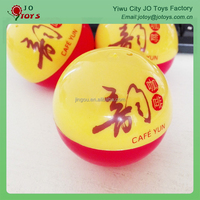 Round shape plastic toy capsule for vending machines
