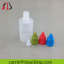High quality needle bottle/long thin tip plastic dropper bottle 30ml 100ml 120ml with nozzle tip for refilling