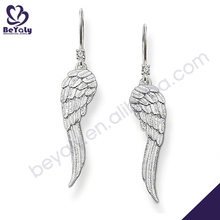 wholesale latest design fashion silver earring hooks .925 sterling silver