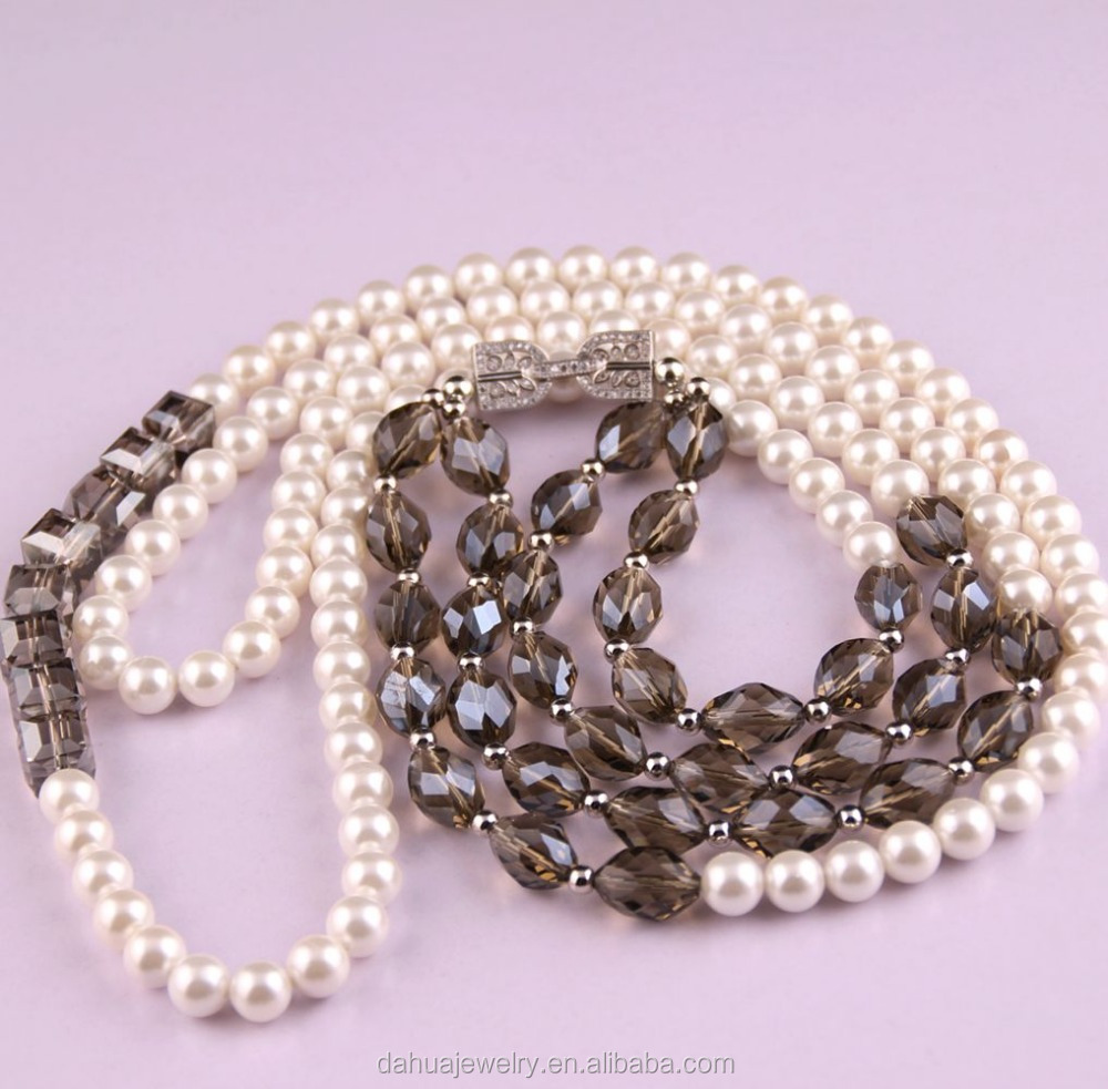 Latest Design Beads Necklace Names Of Sea Stones Rani Haar Designs