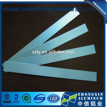 fluorescent lighting aluminum bar plate with CE for bending