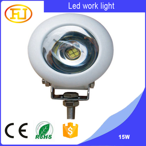 15W Spot LED Working Light for Automotive and Motorcycle