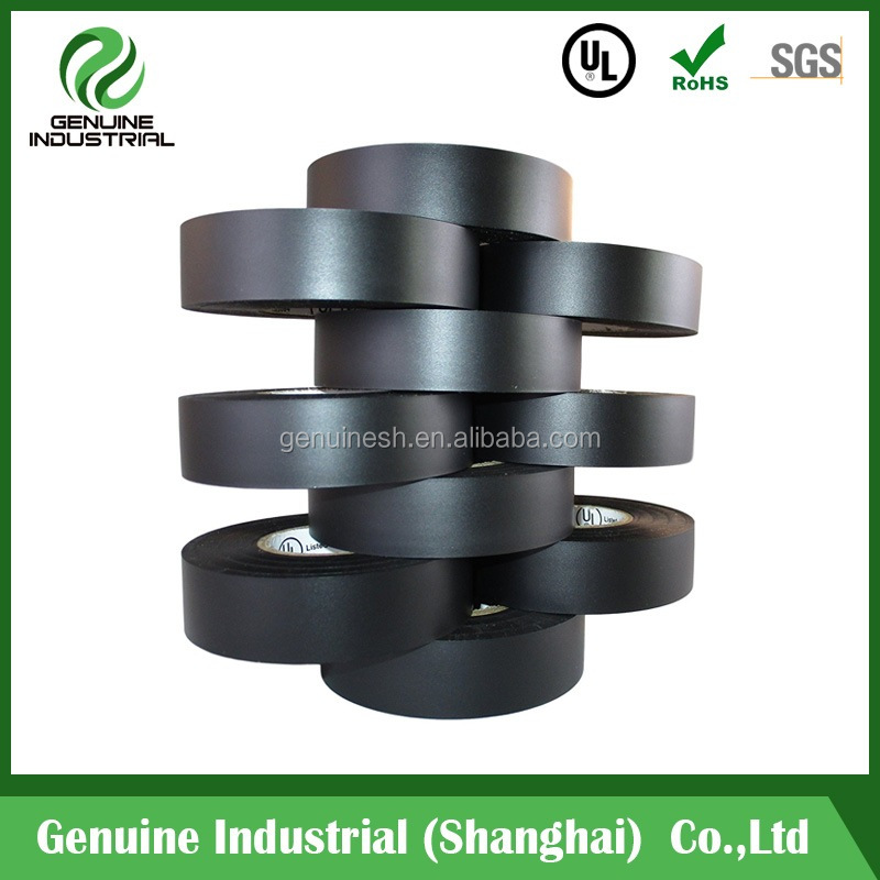 High Quality PVC Electrical Tape Insulation Adhesive Tape Black